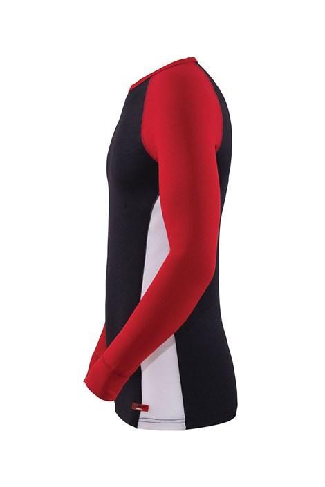 Uniwersalna koszulka funkcyjna Black z długim rękawem
