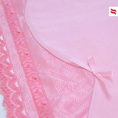 Luksusowa podkoszulka Barbiella - różowa