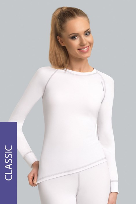 Termo koszulka Classic - biała