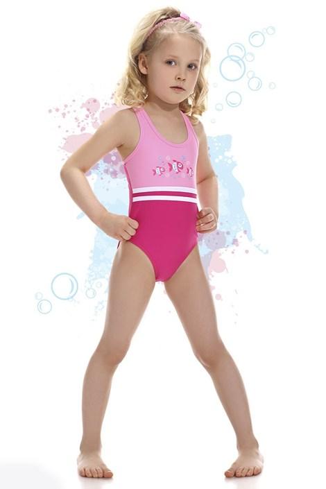 Dziewczęcy kostium kąpielowy Fish