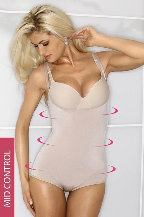 High-Wyszczuplające body z wąskimi ramiączkami - pod piersi