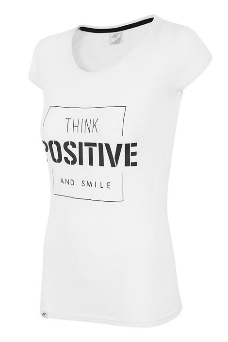 Damski T-shirt sportowy Positive