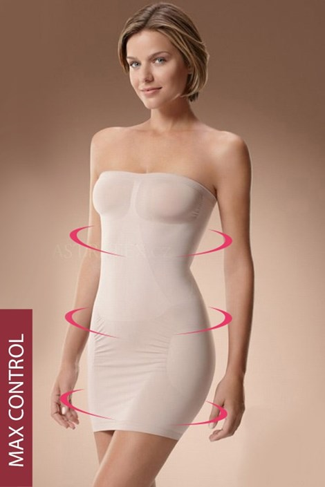High-Wyszczuplająca sukienka 50405 maksimodelująca