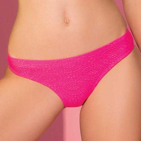 Figi od dwuczęściowego kostiumu kąpielowego Strappy Pink