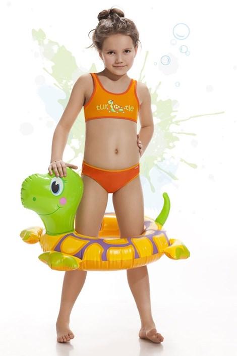 Kąpielówki dziewczęce Turtle