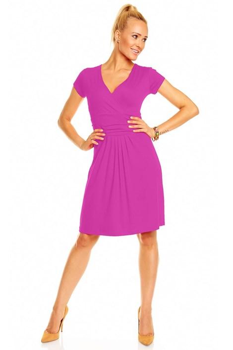 Sukienka Nikola z krótkimi rękawami