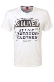 Męski T-shirt s.Oliver 26800