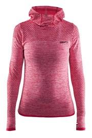 Damska bluza funkcyjna Craft Core Hood Seamless Pink