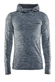 Męska bluza funkcyjna Craft Core Hood Seamless Grey