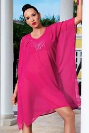 Luksusowa włoska sukienka plażowa z kolekcji Iconique 6606