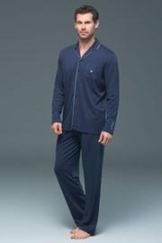 Piżama męska Lion Navy - modal