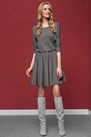 Elegancka dzianinowa sukienka Altea Grey