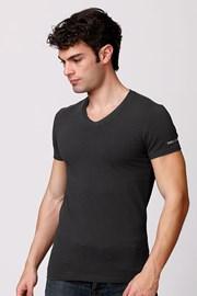 Męski bawełniany T-shirt włoskiej produkcji Enrico Coveri ET1501 Londra