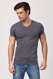 Męski T-shirt Enrico Coveri 1505 Grey