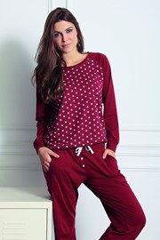 Damskie spodnie domowe Fashion z modalem