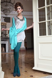 Eleganckie rajstopy Glamour Soft Green