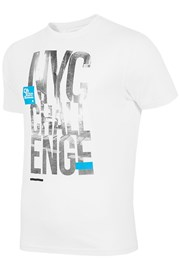 Męski markowy T-shirt 4F TSM020 White