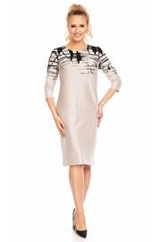Sukienka z wzorem Livia Beige