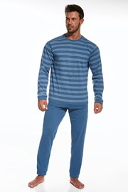 Męska piżama z bawełny Loose