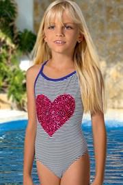 Dziewczęcy kostium kąpielowy Nikki M57