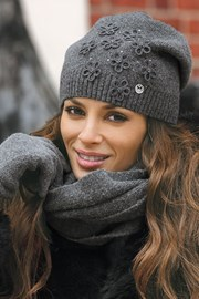Damska czapka Marianella Grafit