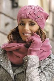 Rękawiczki damskie Marianella Pink