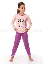 Dziewczęca piżama Miau