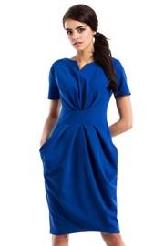 Elegancka sukienka z kieszeniami Moe234