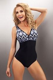 Damski jednoczęściowy kostium kąpielowy Ravello Black