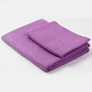 Komplet dwóch ręczników funkcyjnych - fioletowych
