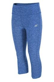 Damskie legginsy sportowe capri Blue Melange