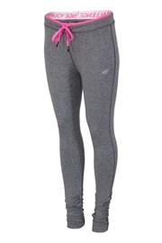 Damskie legginsy sportowe 4F Grey