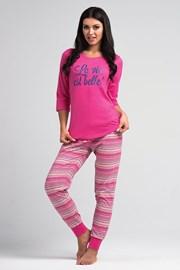 Damska piżama La Vie Pink