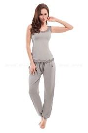 Damska piżama Yasmine Grey