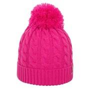 Damska dzianinowa czapka z pomponem