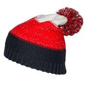 Trójkolorowa czapka dziecięca 4F