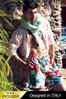 Luksusowe męskie szorty kąpielowe  włoskie 5951D2 - dłuższe nogawki