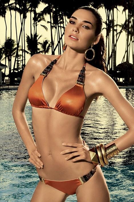Usztywniany biustonosz od luksusowego kostiumu kąpielowego Laisan