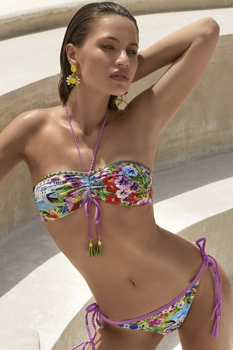 Górna część luksusowego damskiego kostiumu kąpielowego Abella - biustonosz bez fiszbinów