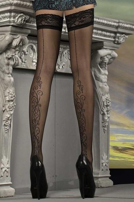Luksusowe pończochy samonośne J.Collection 215
