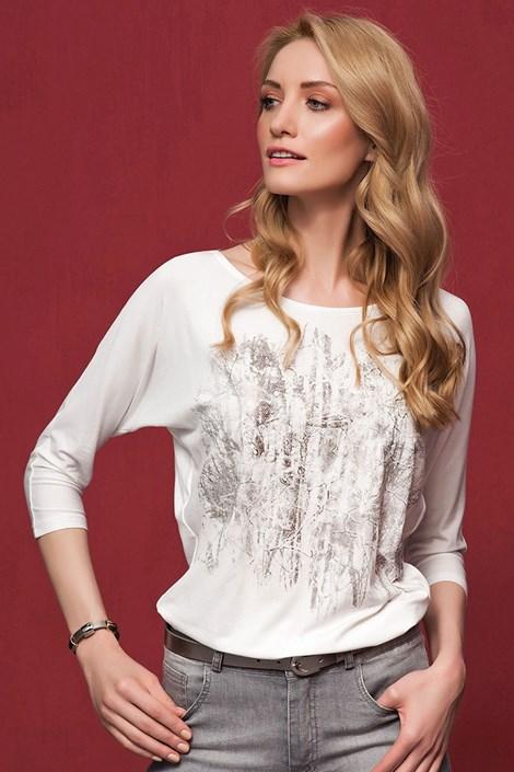 Elegancka damska bluzka Kera White