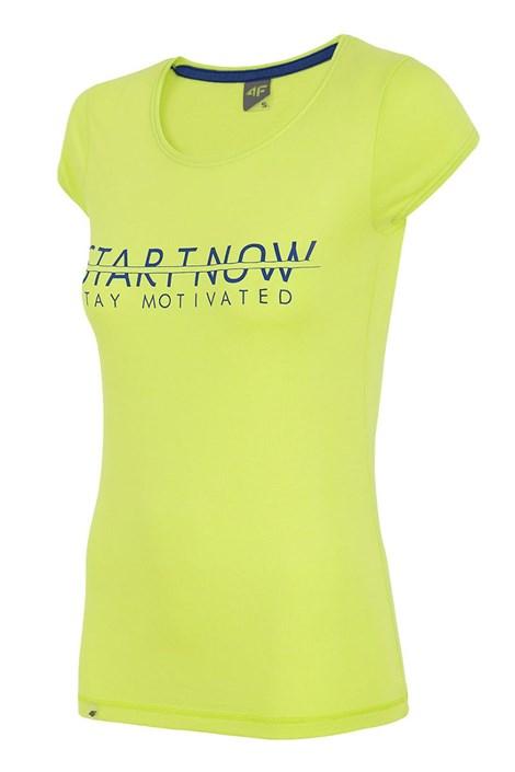 Damski T-shirt sportowy Start Now