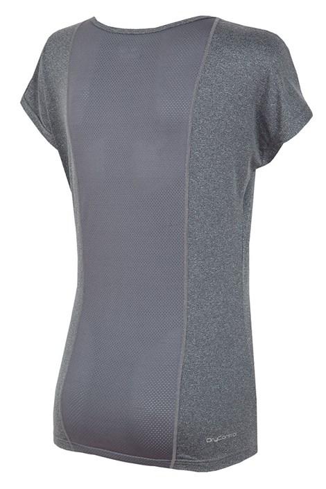 Damski T-shirt sportowy Grey