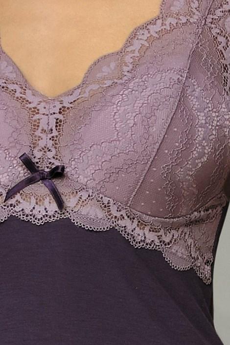 Elegancka koszulka Larisa Plum