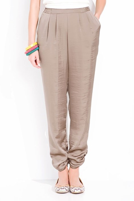 Luksusowe spodnie satynowe Prissy 003