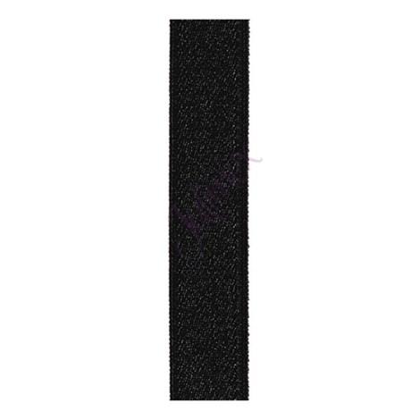Tekstylne ramiączka 28 mm czarne