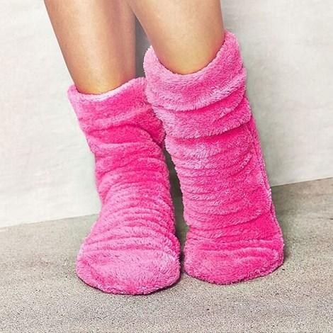 Ciepłe skarpetki Pink