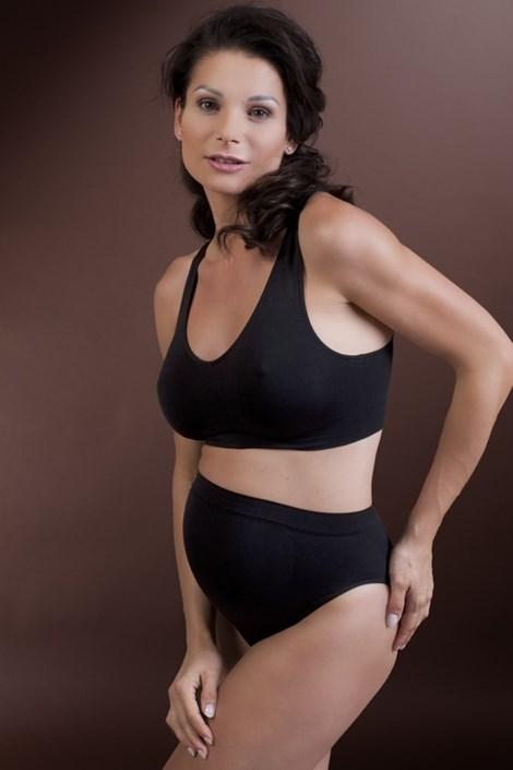 Bezszwowe majtki dla kobiet ciężarnych kobiet - antybakteryjne