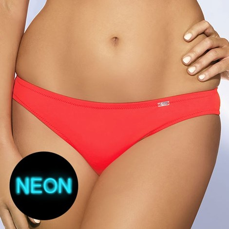 Figi od dwuczęściowego kostiumu kąpielowego Coral Neon