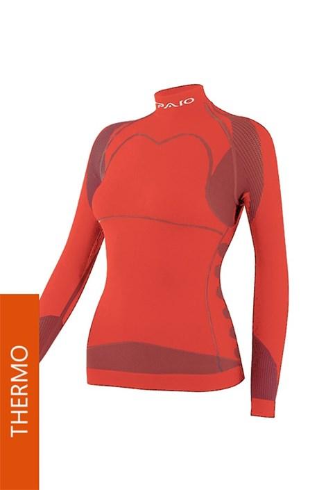Koszulka Thermo Line W03 damska czerwona